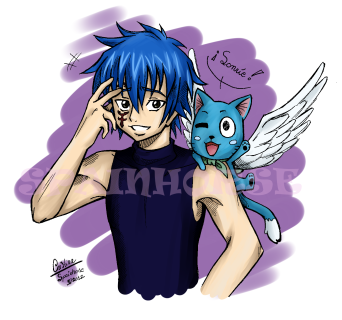 Jellal and Happy