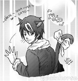 Yûjiro (Érase una vez un gato)_Spainhorse (Reducido)